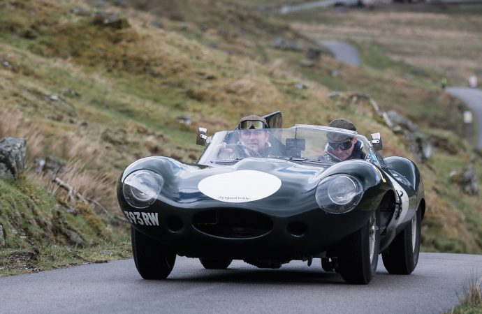 Jaguar preps for Italy with 'Mini Miglia' in Scotland