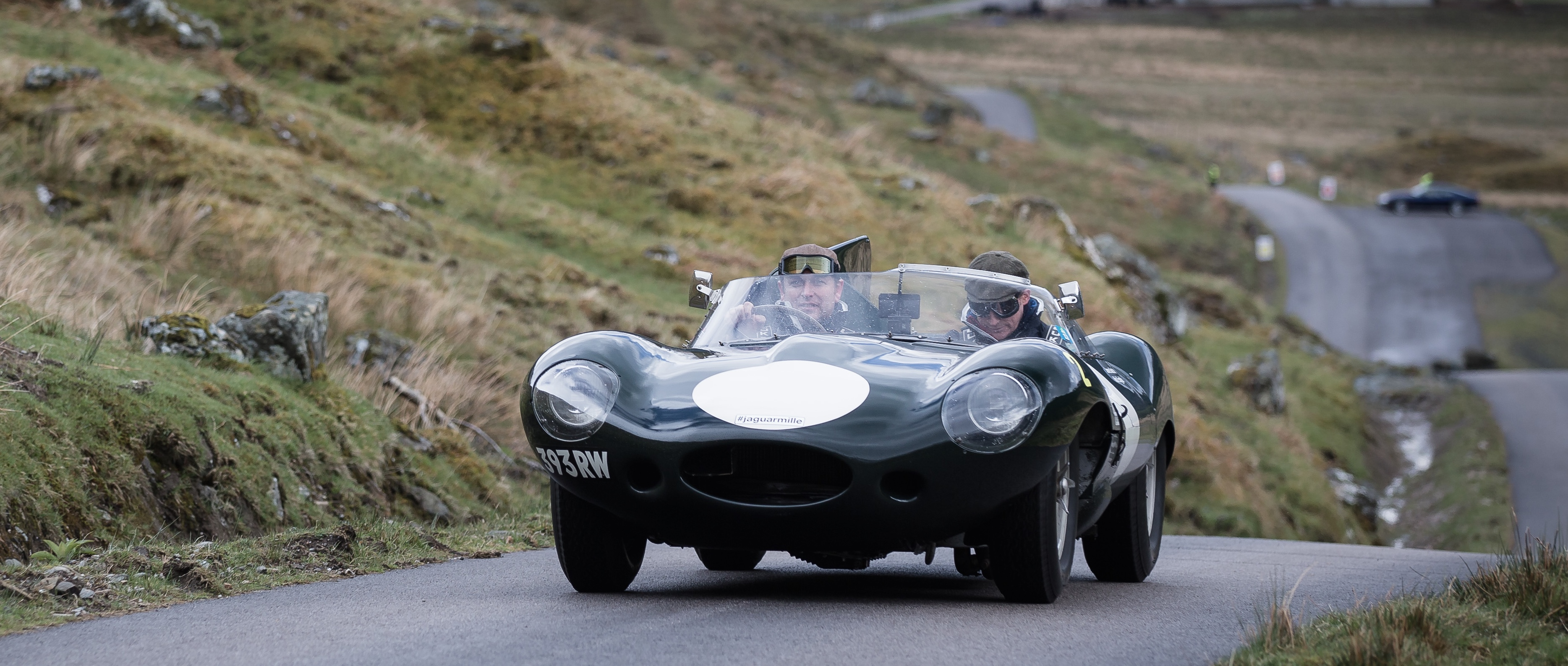 Jaguar preps for Italy with \'Mini Miglia\' in Scotland ...