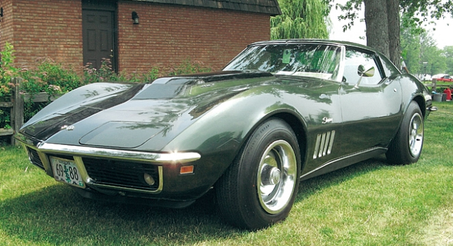 Unrestored Corvette L88 at Mecum Auction
