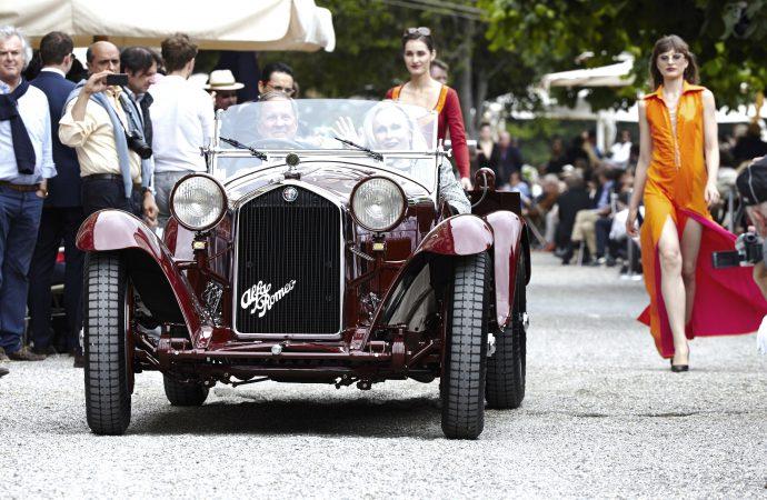 1932 Alfa Romeo Zagato wins Villa d'Este best of show