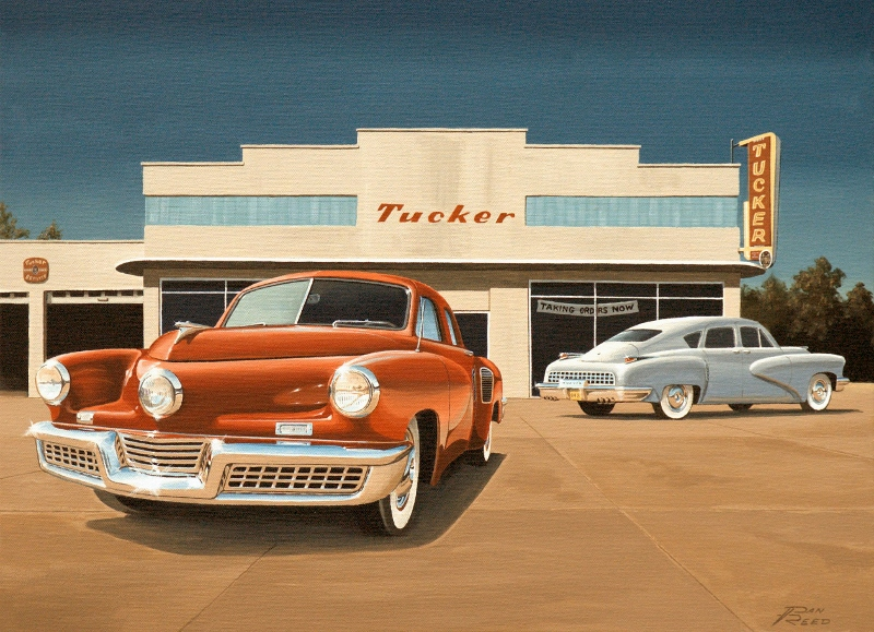 tucker car company essay Tucker, the man and his tried to start a car company to challenge the big argument at his trial and having fifty tucker cars line the streets near the.