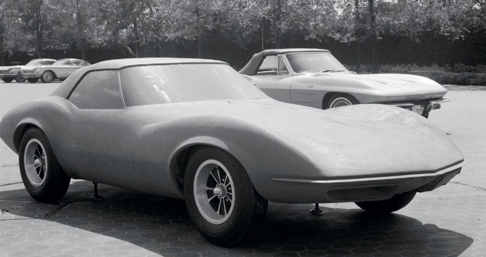 Pontiac photo of the Banshee design under progress
