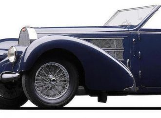 Exotic supercharged Bugatti Type 57C Cabriolet leads Bonhams' auction in Greenwich, Connecticut