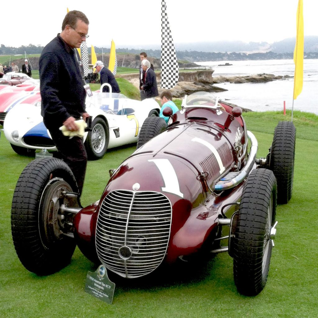 The Maserati at the 2014 Pebble Beach Concours | Nathan Evans