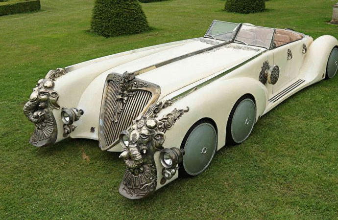 Truly 'Extraordinary' car to cross the block July 11 at Coys auction