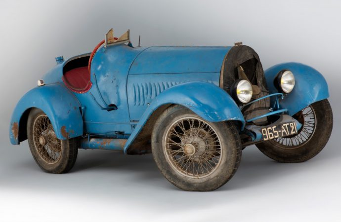 Artcurial adds Bugatti in the barn to les Champs sale