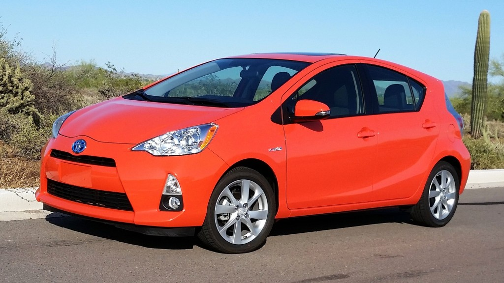 Styling of the subcompact Prius c is more expressive than that of the standard Prius | Bob Golfen photos