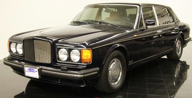 The Bentley Turbo R is a low-mileage beauty