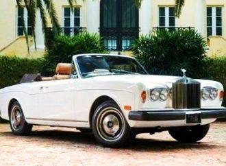 1976 Rolls Royce Corniche convertible