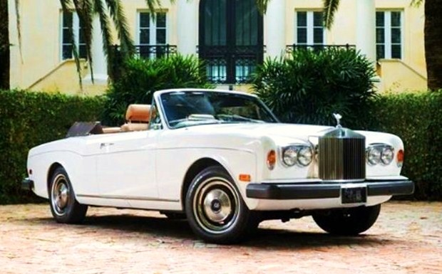 The impressive Rolls-Royce Corniche convertible offers terrific value for the money