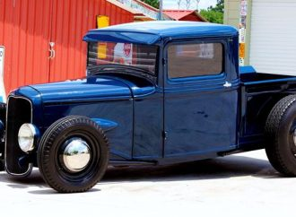 1934 Ford/Mercury hot rod pickup truck