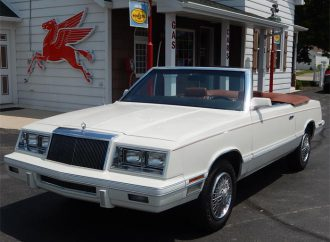 1982 Chrysler LeBaron Mark Cross Edition