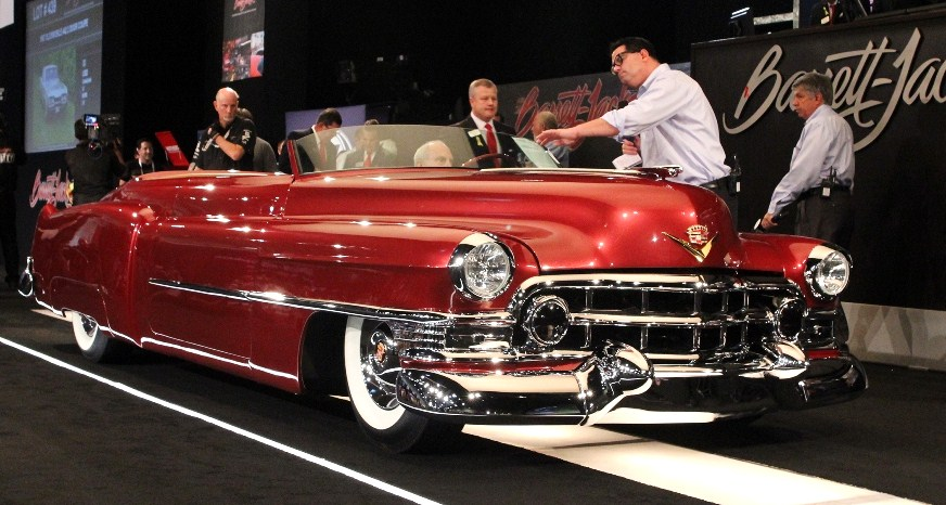 A topless custom 1952 Cadillac sold at last year's Hot August Nights auction | Barrett-Jackson photos