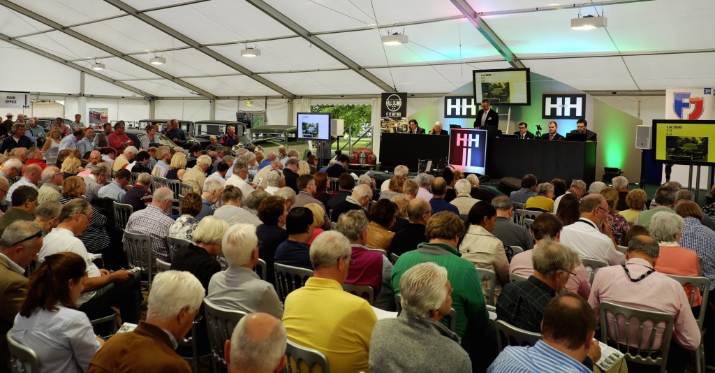The scene at H&H's Rolls and Bentley sale | H&H Classics photos