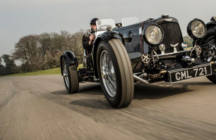 Aston racer, Stirling Moss's own Porsche pace Bonhams sale at Goodwood Festival of Speed