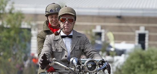 British museum host to 67th vintage motorcycle run