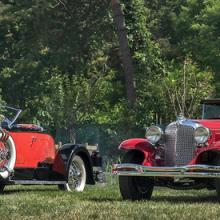1928 Auburn, 1931 Chrysler win best of show at Ault Park