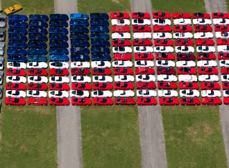 Corvette flag returns as Carlisle celebrates service members