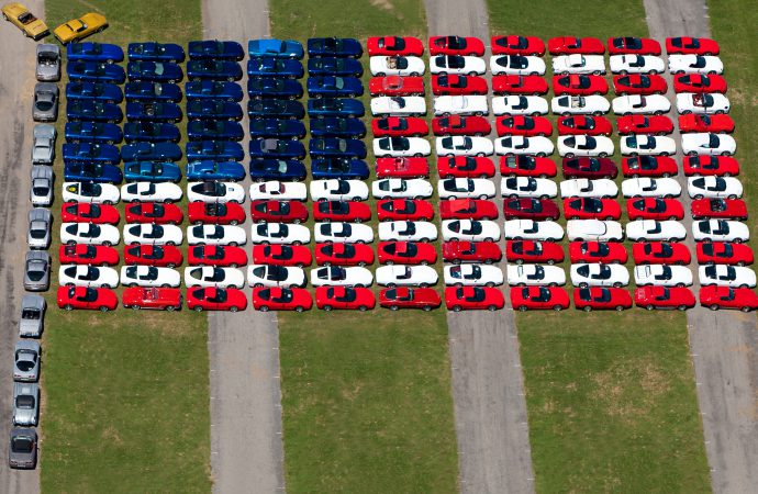Corvette flag returns as Carlisle celebrates service members