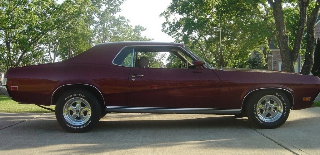 My Classic Car: David\'s 1970 Mercury \'Hound\'s-tooth\' Cougar ...