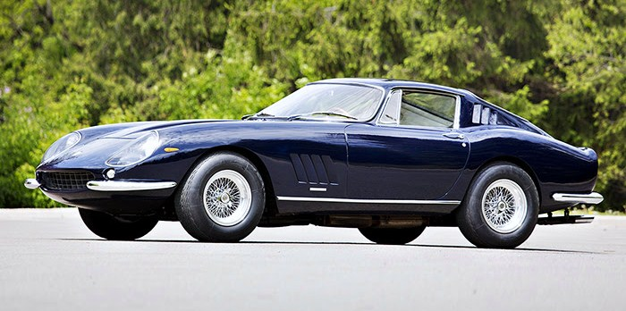 Peter Klutt's 1967 Ferrari 275 GTB/4 has gone just 10,000 miles | Gooding & Company photos