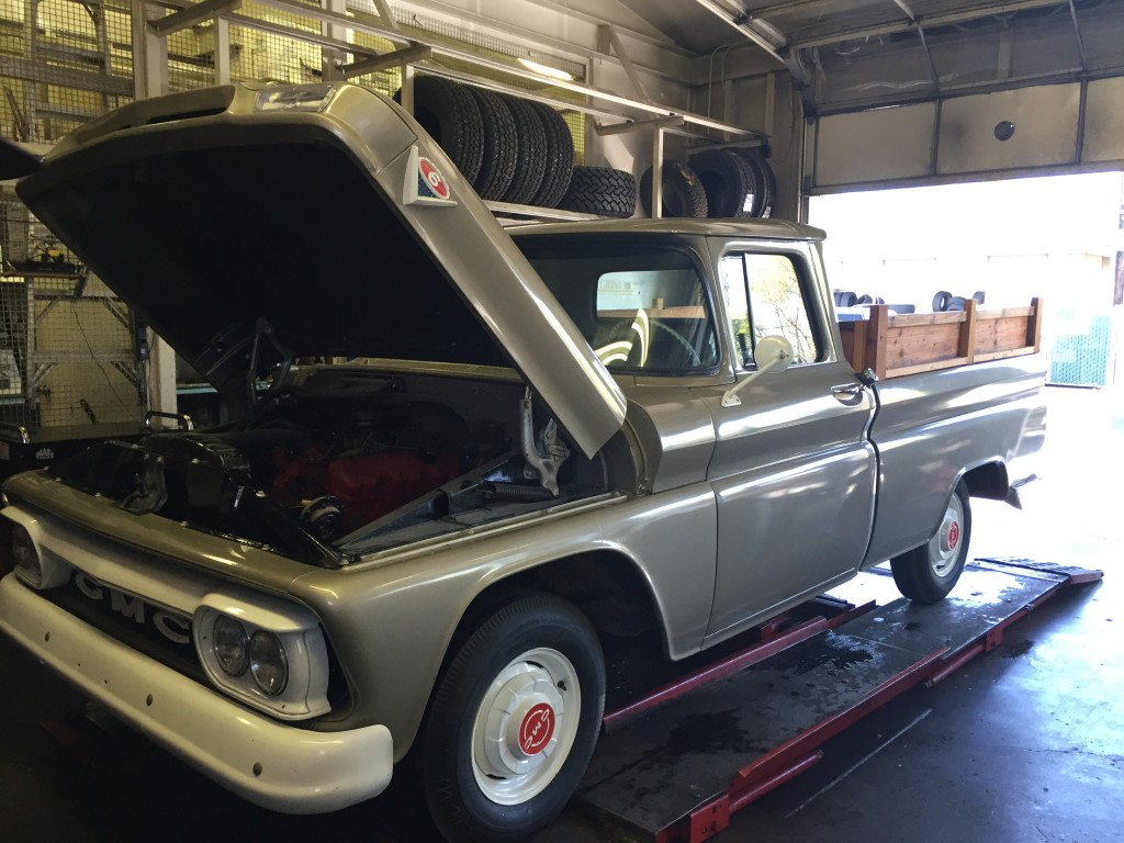 Steve's 'brand new' '62 GMC pickup | Steve Yarborough photos