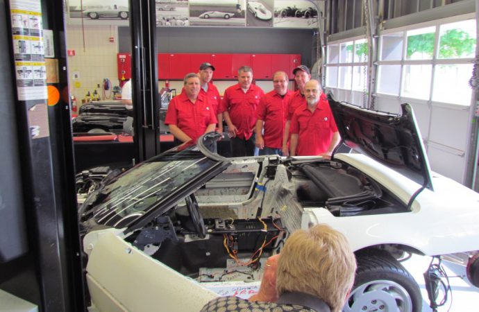 Sinkhole update: Restoration of 1 Millionth Corvette progressing at GM Design