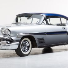 '57 Buick, '58 Bonneville set pace at American classic car auction in Germany