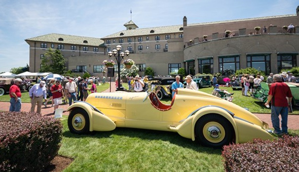Famed Mormon Meteor was best of show at The Elegance at Hershey in 2014 | Elegance at Hershey photos