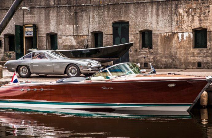 Lamborghini's own twin-V12 Riva boat offered for sale