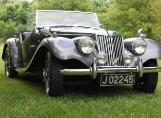 My Classic Car: Jack's 1954 MG TF-1500