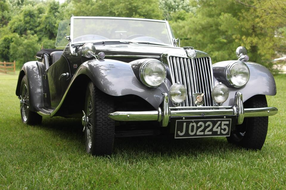 First love rediscovered: A 1954 MG-TF   Jack Long photos