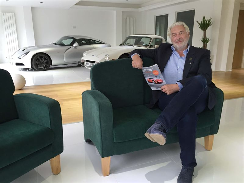 TVR chairman Les Edgar promises cars in production in 2017 | TVR photo