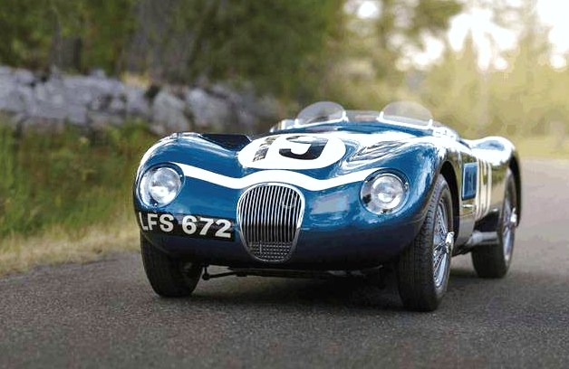 The Jaguar C-Type Lightweight was the final version of the endurance racing car | RM Sotheby's photos