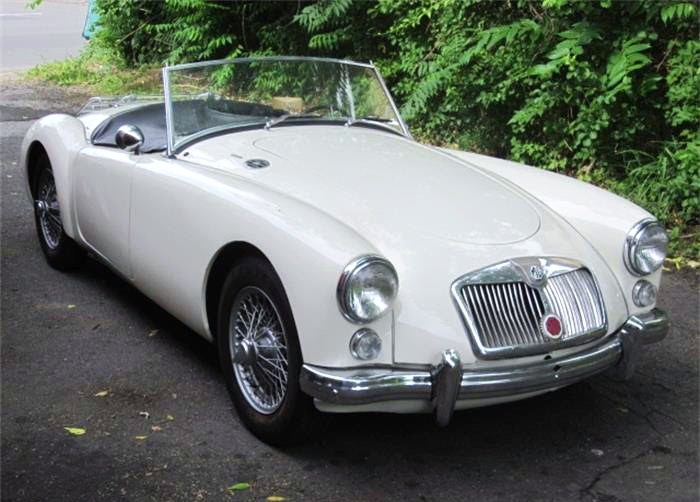 The MGA is one of the most attractive of the classic British sports cars