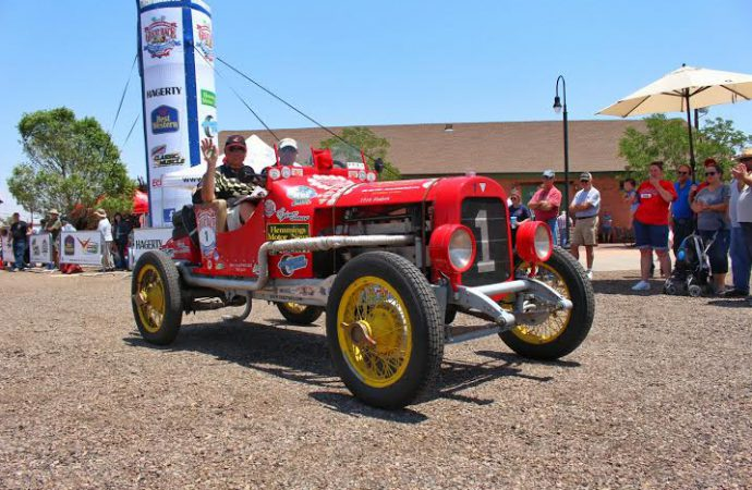 Classic cars rally across the United States in Great Race