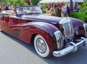 Daimler 'Green Goddess' reigns at Hershey Concours