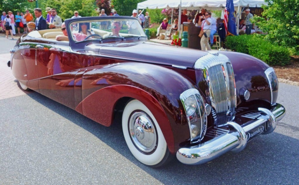 Daimler \'Green Goddess\' reigns at Hershey Concours - ClassicCars ...