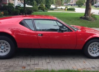 My Classic Car: David's 1973 De Tomaso Pantera