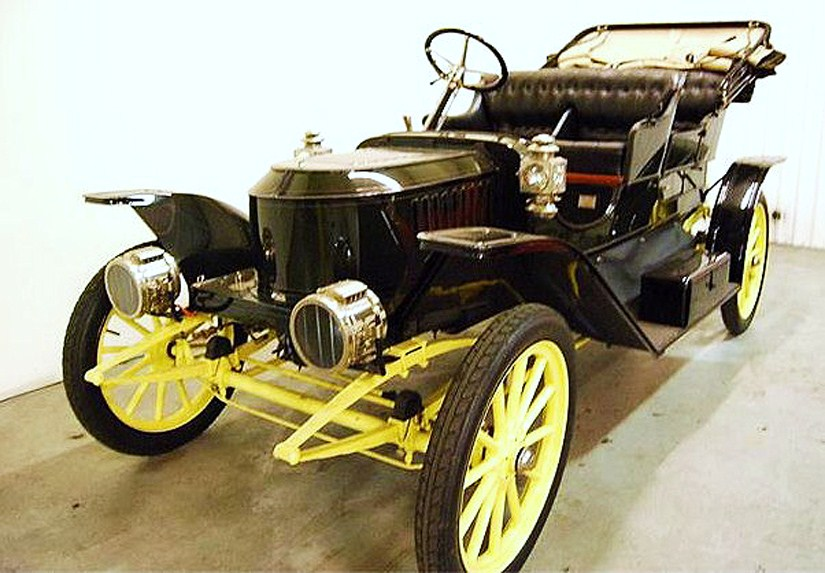 The Stanley Steamer has been treated to a thorough restoration, the seller says