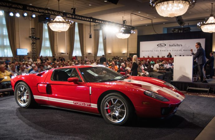 Ford GT joins American classics atop RM Sotheby's Motor City sales results