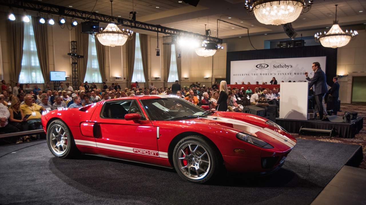 Ford gt joins american classics atop rm sotheby 39 s motor for Motor city auto sales