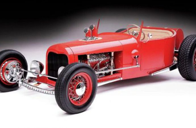 Roadster Show finalist set for Russo and Steele Monterey auction