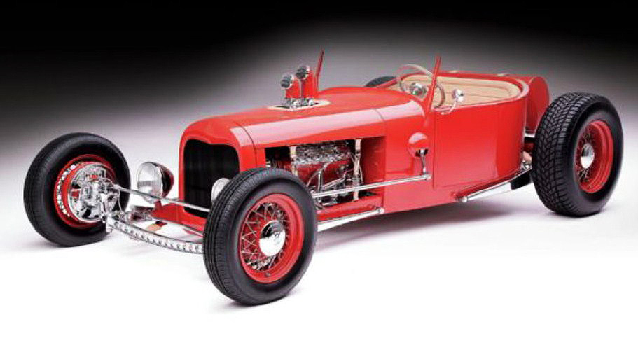 The 1927 Ford street rod was a contender in the America's Most Beautiful Roadster competition | Russo and Steele photos