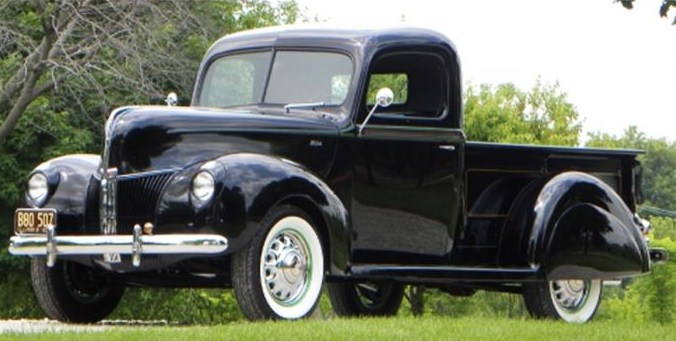 Custom 1940 Ford pickup
