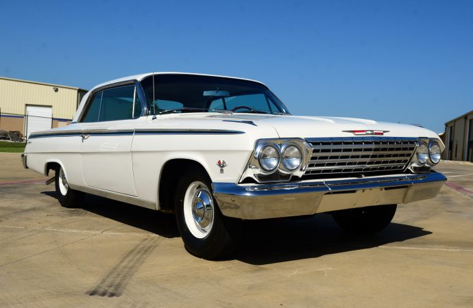 Countdown to Barrett-Jackson Reno: 1962 Chevrolet Impala 409 re-creation