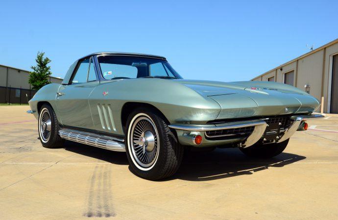 Countdown to Barrett-Jackson Reno: 1966 Chevrolet Corvette convertible