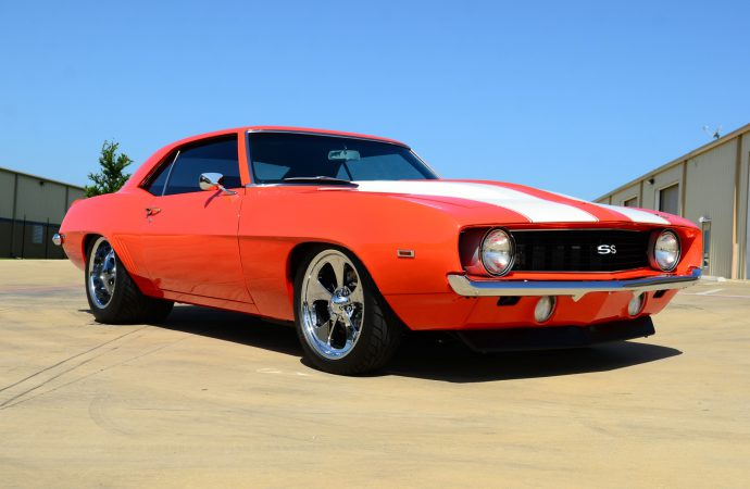 Countdown to Barrett-Jackson Reno: 1969 Chevrolet Camaro custom
