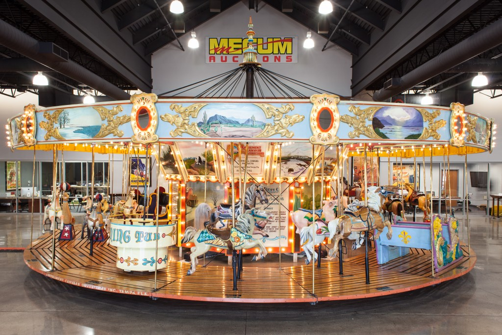 Buy this 1922 carousel and Mecum will deliver and set it up at your location | Mecum Auction photos