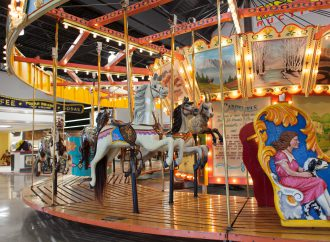 Mecum's 1,000-item Road Art sale offers signs and much more, including a 40-foot carousel